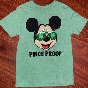 Disney Mickey St Patricks Day with Changing Shades